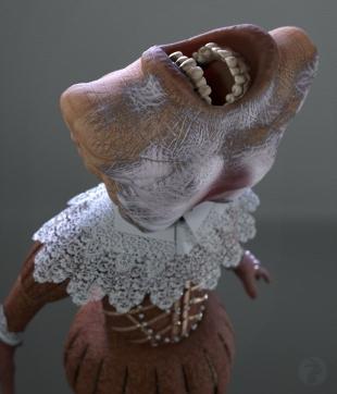 Mouthman - posed 5