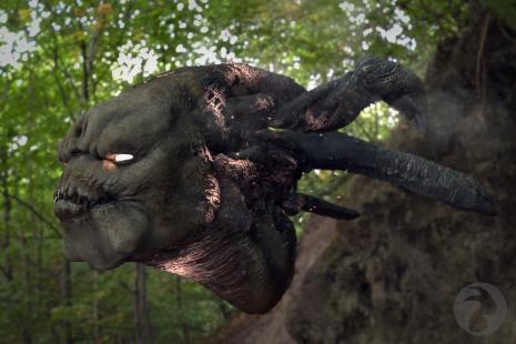 Wood demon - HDRI